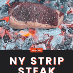 Caveman NY strip steak