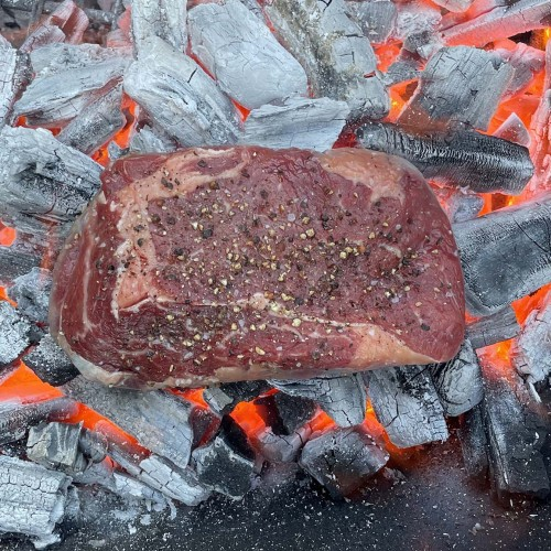 Caveman ribeye steak