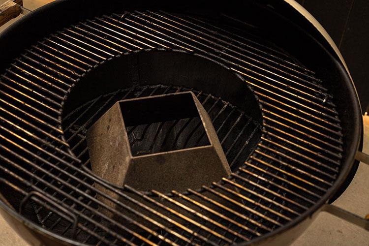 Weber BBQ with a Vortex