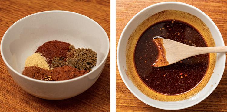 Nashville Chicken hot sauce in a bowl