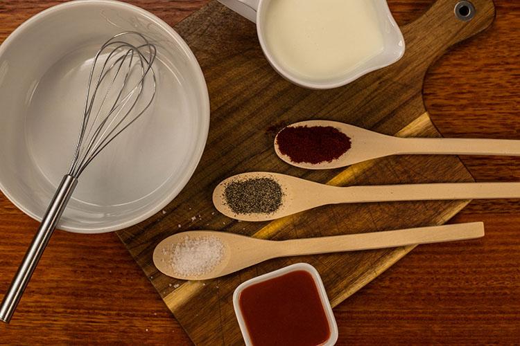 Nashville Chicken wet brine ingredients