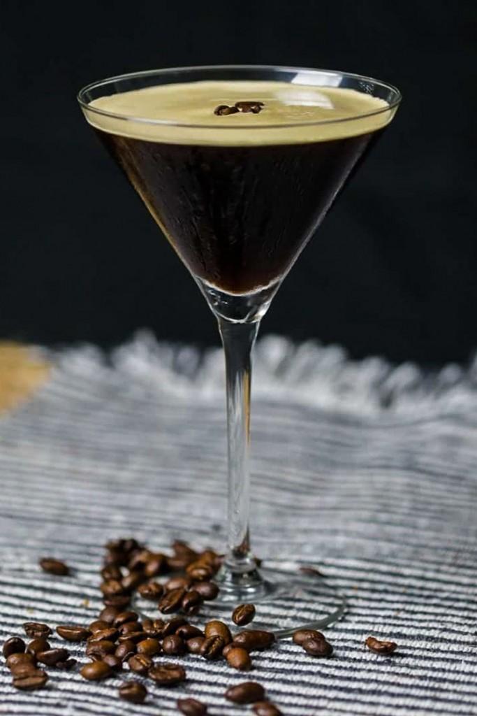 Smoked Espresso Martini