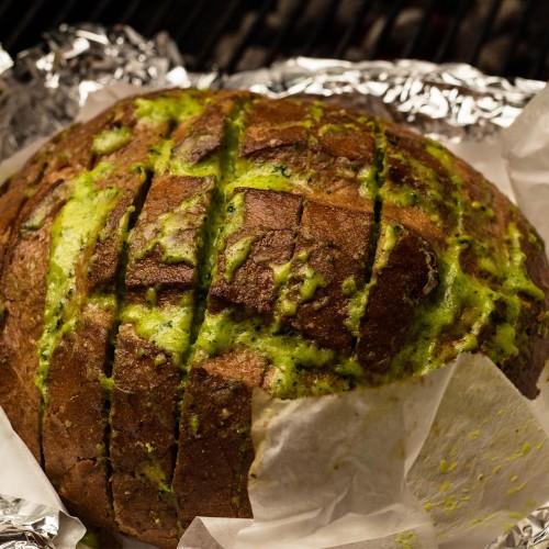 cilantro garlic bread