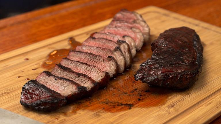 Grilled Rump Cap Steak (Picanha)