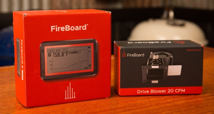 fireboard 2 and drive blower fan boxes