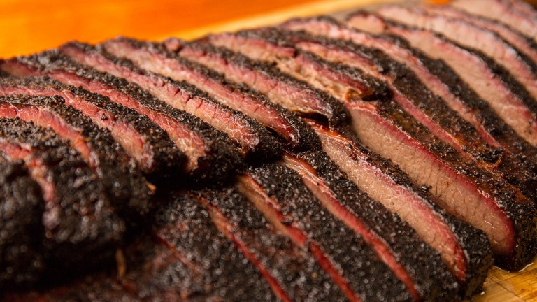 Hot and Fast BBQ Brisket
