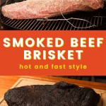 hot and fast style brisket