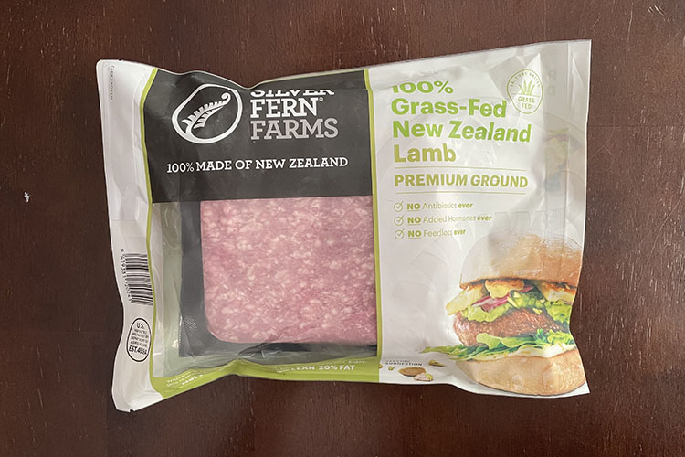 ground lamb from silver fern farms