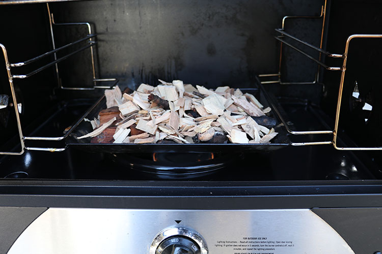 Camp Chef Smoke Vault flavoring wood tray