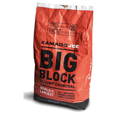 Kamado Joe Big Block XL Natural Lump Charcoal - 20 Lbs