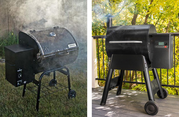 camp chef se 24 and traeger pro 575