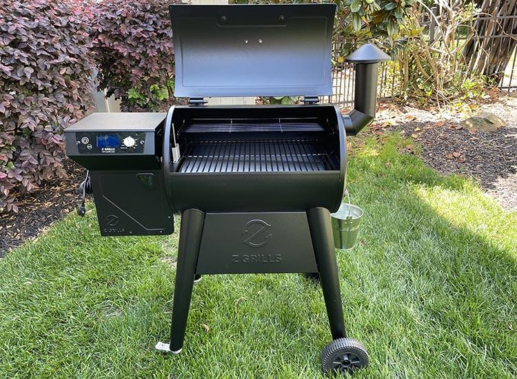 z grills 450b wood pellet grill
