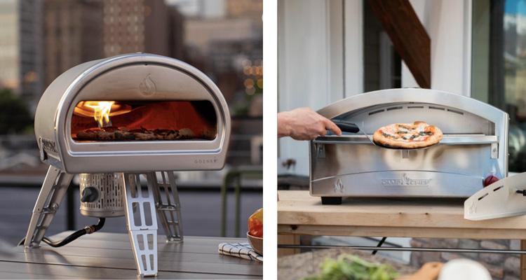 Gozney Roccbox and Camp Chef Italia Artisan Pizza Oven