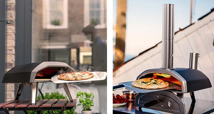Ooni koda and Ooni fyra pizza ovens
