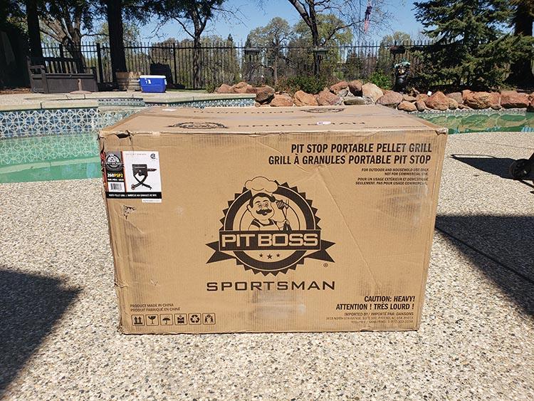 Bit Boss Sportsman Pellet Grill Packaging