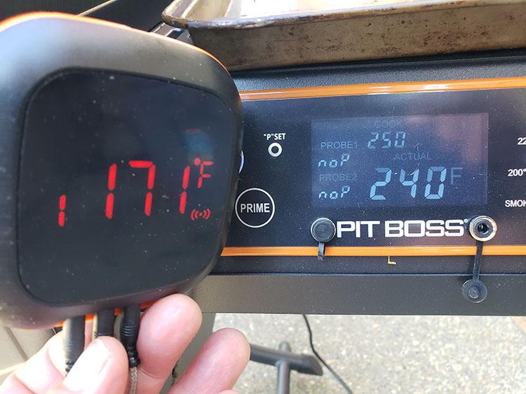 Pit Boss Sportsman Pellet Grill and Inkbird IBT-4XS