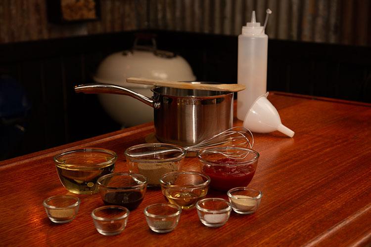 smoked ribs glaze ingredients
