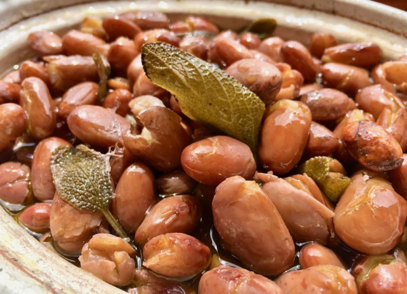 Borlotti Beans – Tuscan Style