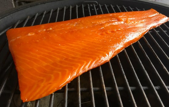 Cold Smoked Salmon – first of the Autumn 2019