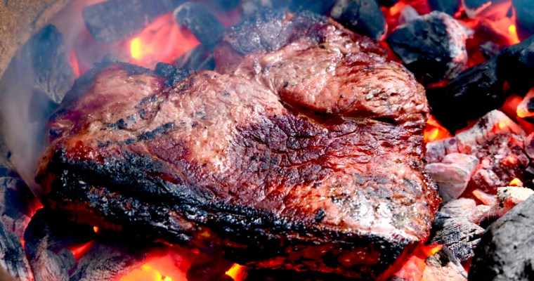 Dirty Steak (caveman or cowboy steak)