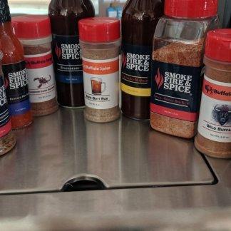 Our Rubs, Hot Sauces, & BBQ Sauces