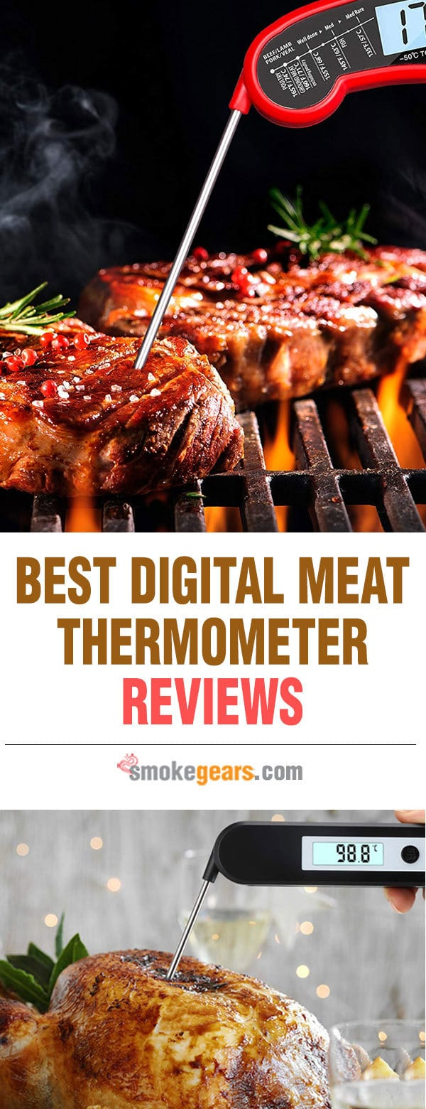 best cooking digital thermometer reviews
