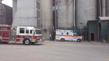 Man Badly Mangles Foot In Auger At Baggett Grain Inc