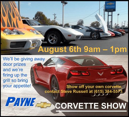 Corvette show pic 2016