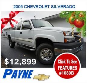 Payne 2005 CHEVROLET SILVERADO 1089B