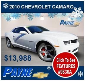 Payne 2010 chevrolet camaro 9836A 288