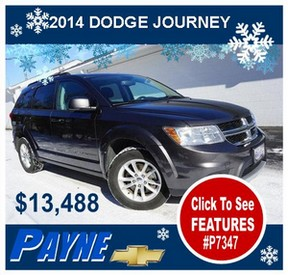Payne 2014 Dodge Journey P7347 288