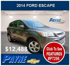 Payne 2014 Ford Escape p7298 288