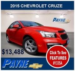Payne 2015 Chevrolet Cruze 1335A 288