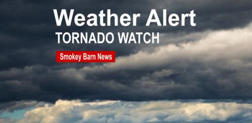 Robertson County Under Tornado Watch Until 9PM