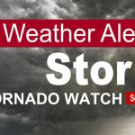 Tornado Watch: Robertson County, TN Until 9:00pm CST, Sat Mar 9