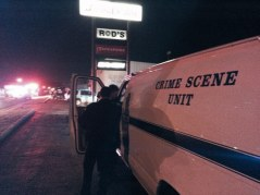 crime scene van