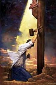 sinner at cross