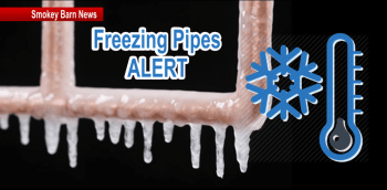 Cold Temps Spark Freezing Pipes Advisory