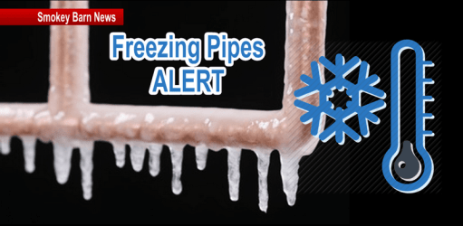Trickle Alert: Tonight's Low 17°F (Learn How To Protect Your Pipes)