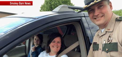 T.H.P. Combines Seat Belt Safety With Ice-Cream At Greenbrier Elementary