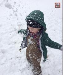 Submitted by Keelin Elizabeth Wagoner So much fun in the snow!
