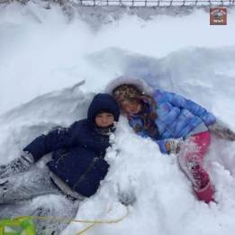 Submitted by Emily Anthony Bryant - Lost in the drifts in Adams!
