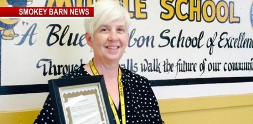 Anne Proctor Receives Governor's Volunteer Stars Award