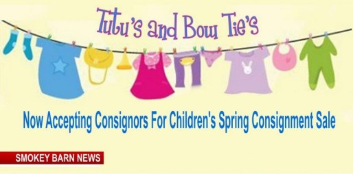 Now accepting consignors for Spring sale
