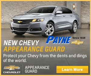 chevy appearance guard 300