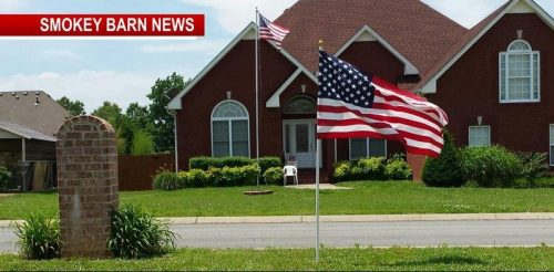 Greenbrier Neighborhood Patriotic And Giving On This Memorial Day