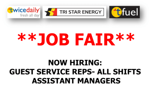 Twice Daily Job Fair