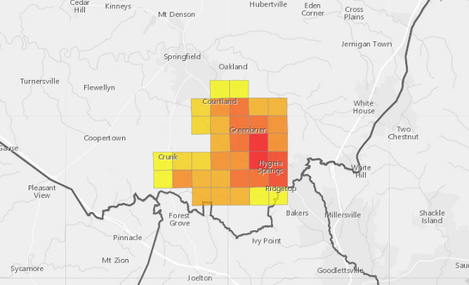 Over 4000 Without Power In Greenbrier Area