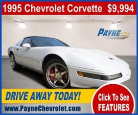 payne 1995 corvette