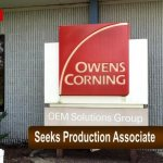 Owens Corning Now Hiring Production Associate - 1st Shift (Springfield)
